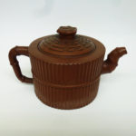 18th/19th C. chinese Yixing Teapot – Bamboo